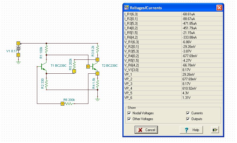 Results Circuit Simulation Is The Main Component Of Proteus 6
